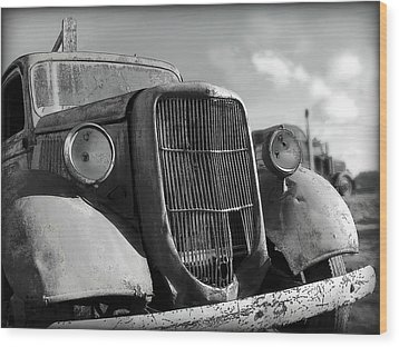 Wood Print featuring the photograph Rustic Beauty by Micki Findlay