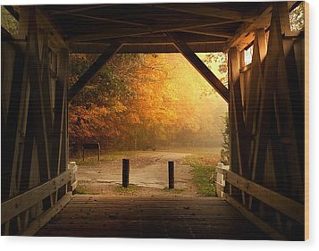 Rustic Beauty Wood Print