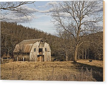 Wood Print featuring the photograph Rustic Hay Barn by Robert Camp