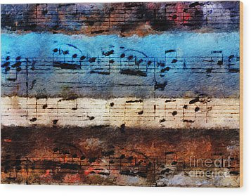 Rustic Rondo Wood Print by Lon Chaffin
