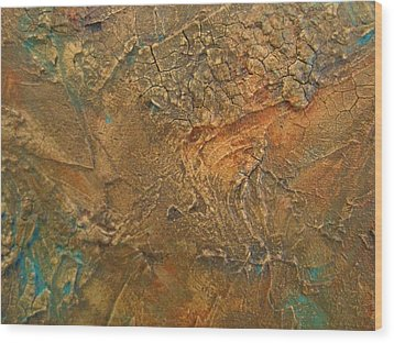 Rusty Day Wood Print