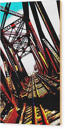 Rxr Bridge Polarized Wood Print