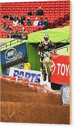 Ryan Dungey Wood Print by Jason Blalock