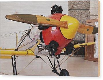 Ryan Pt-22 Recruit Wood Print by Michelle Calkins