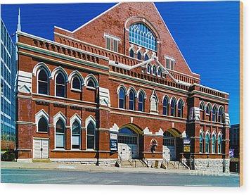 Ryman Auditorium  Wood Print