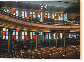 Ryman Colors Wood Print by Glenn DiPaola