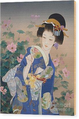 Ryo Wood Print by Haruyo Morita