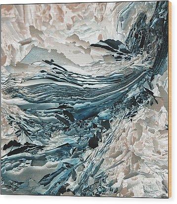 Wood Print featuring the photograph S by Liz  Alderdice