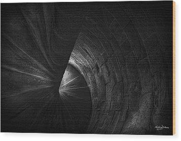 S P I R A L Wood Print