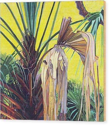 Sabal Wood Print