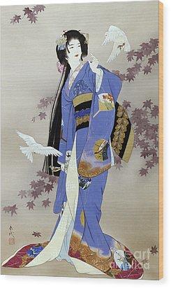 Sachi Wood Print