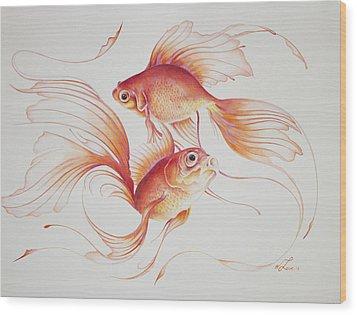 Sagaku Wood Print by William Love