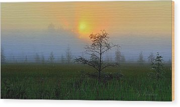 Wood Print featuring the photograph Saginaw Sunrise by Gregory Israelson
