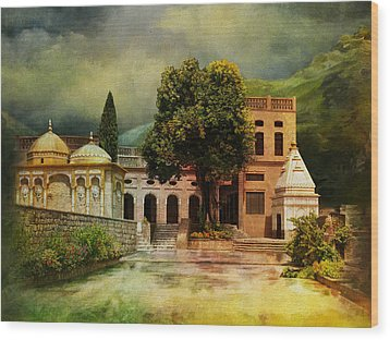 Saidpur Village Wood Print by Catf
