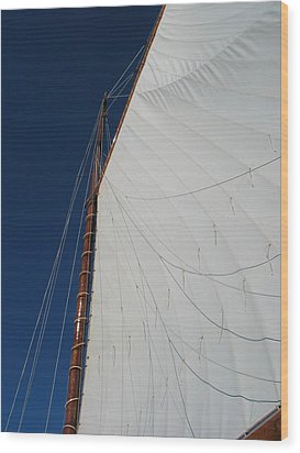 Wood Print featuring the photograph Sail Away With Me by Photographic Arts And Design Studio