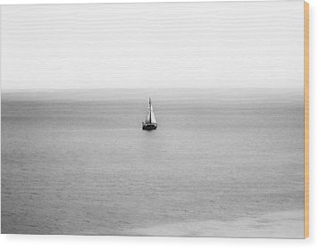 Wood Print featuring the photograph Sail Away by Zoe Ferrie