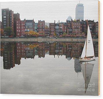 Sail With Me Wood Print by Susan Hernandez