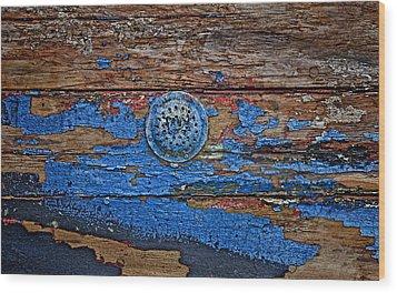 Sailboat Drain Wood Print by Murray Bloom