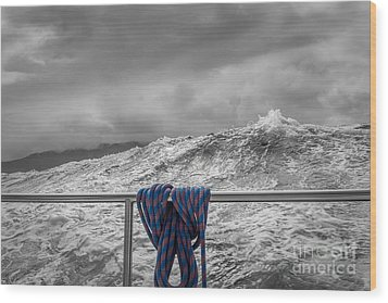 Wood Print featuring the photograph Sailing Around South West Cape Of Tasmania by Jola Martysz