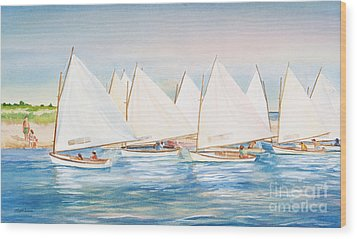 Sailing In The Summertime II Wood Print by Michelle Wiarda