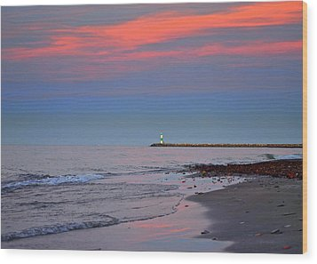 Sailors Guide Wood Print by Frozen in Time Fine Art Photography