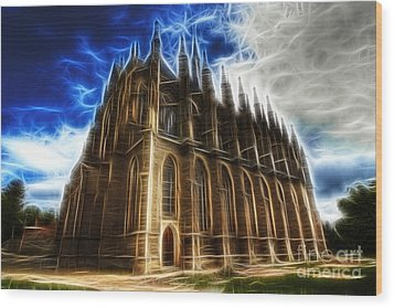 Saint Barbara Church Kutna Hora Wood Print by Michal Boubin