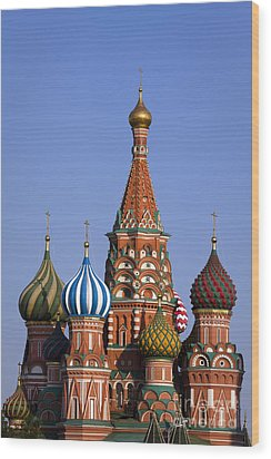 Saint Basil's Cathedral Wood Print