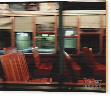 New Orleans Saint Charles Avenue Street Car In New Orleans Louisiana #6 Wood Print