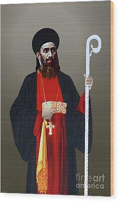 Saint Gregorios Of Parumala Wood Print
