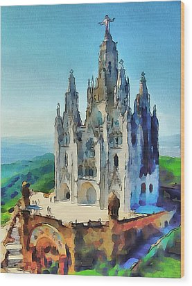 Saint Heart Cathedral Wood Print by Yury Malkov