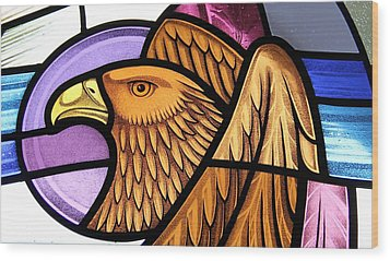 Saint John Eagle  Wood Print