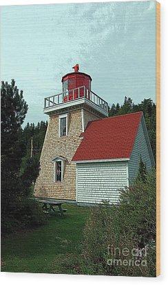 Saint Martin's Lighthouse 2 Wood Print by Kathleen Struckle