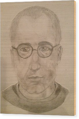 Saint Maximillian Kolbe Wood Print by Noah Burdett