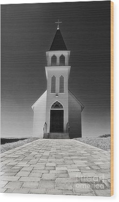 Wood Print featuring the photograph Saint Peter Church by Joseph Hollingsworth