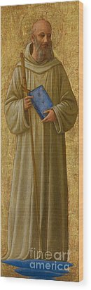 Saint Romuald Wood Print by Fra Angelico