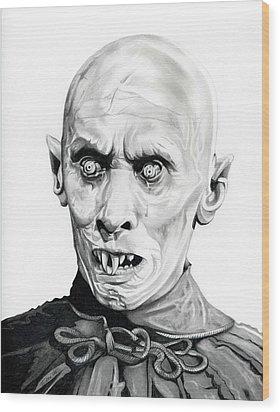 Salem's Lot Wood Print by Fred Larucci