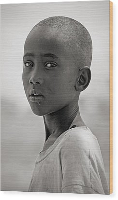 Wood Print featuring the photograph Samburu #1 by Antonio Jorge Nunes