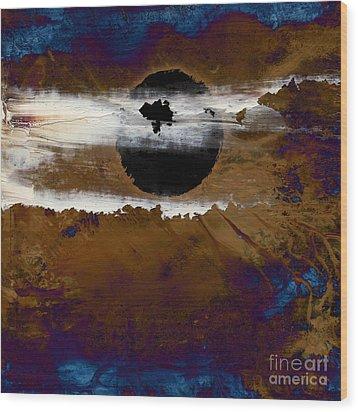 Samhain I. Winter Approaching Wood Print