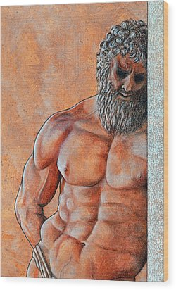 Samson Wood Print