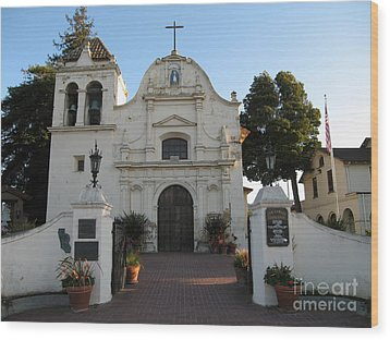Wood Print featuring the photograph San Carlos Cathedral by James B Toy