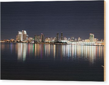 Wood Print featuring the photograph San Diego Ca by Gandz Photography