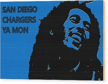 San Diego Chargers Ya Mon Wood Print by Joe Hamilton
