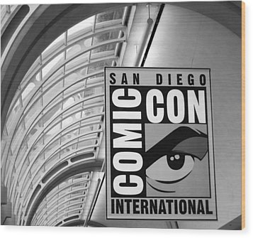 San Diego Comic Con Wood Print by Nathan Rupert