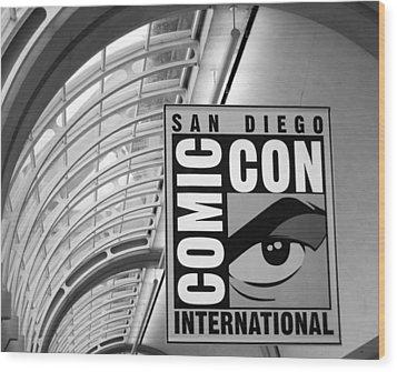 San Diego Comic Con Wood Print