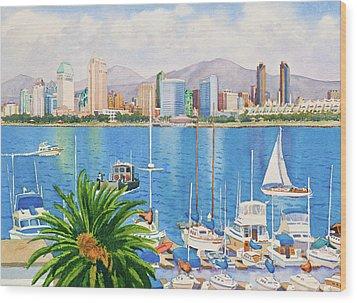 San Diego Fantasy Wood Print