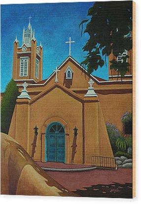 San Felipe De Neri Wood Print