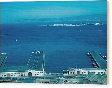 San Francisco 12 1955 Wood Print by Cumberland Warden