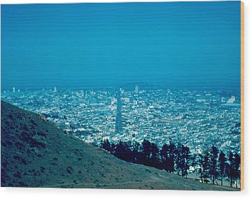 San Francisco 1955 Wood Print by Cumberland Warden