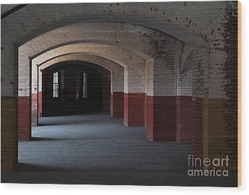 San Francisco Fort Point 5d21543 Wood Print by Wingsdomain Art and Photography
