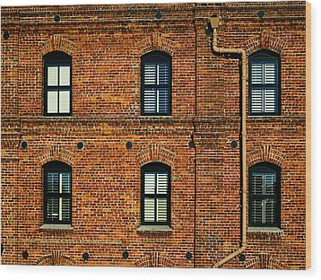 San Francisco Red Brick Building Photograph By Brian Orlovich
